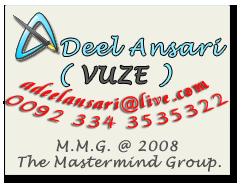 Contact Adeel Ansari